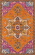 Product Image of Bohemian Orange Area Rug