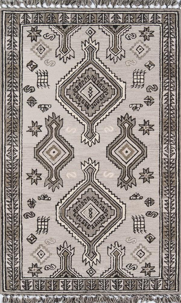 Grey Moroccan Area Rug