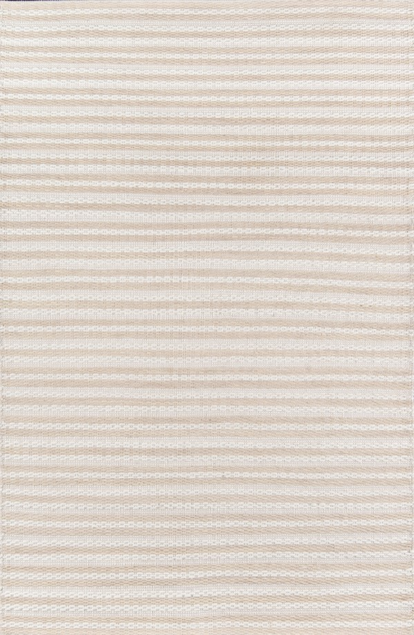 Beige, Ivory Striped Area Rug