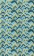 Product Image of Contemporary / Modern Green, Blue, Aqua Area Rug