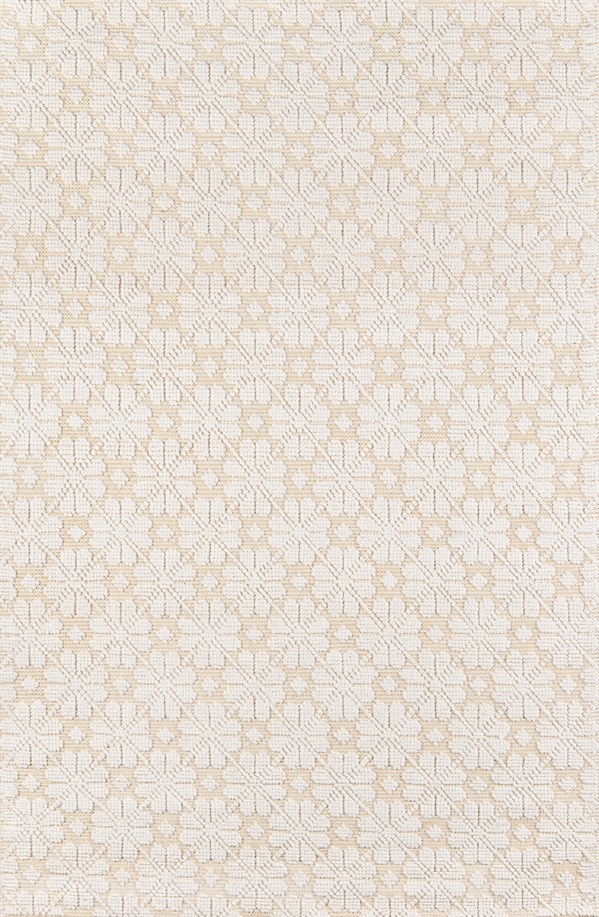 Yellow, Ivory Transitional Area Rug