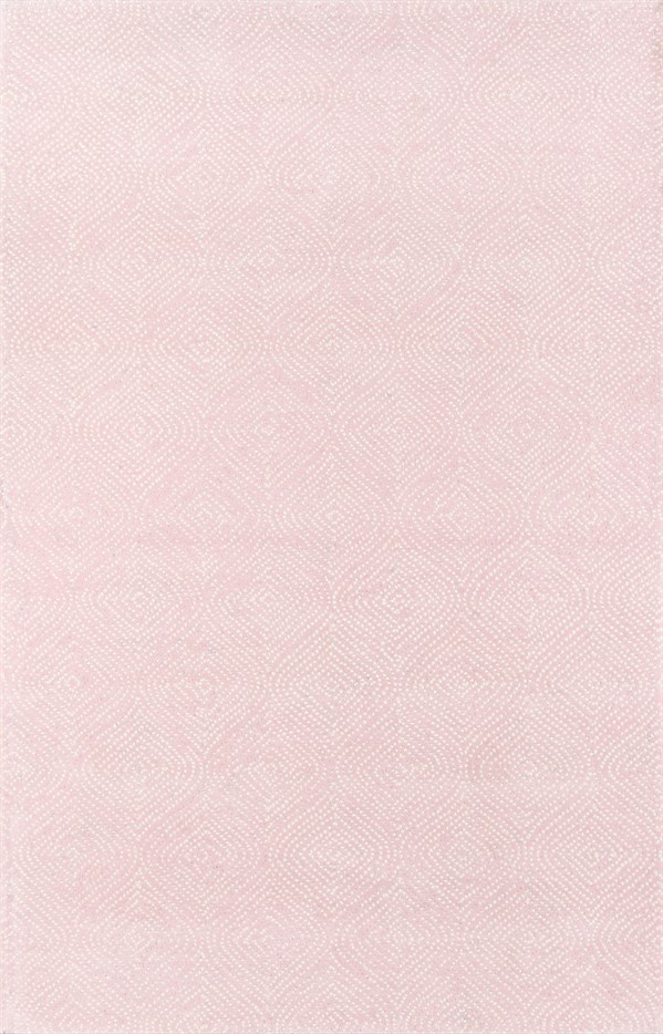 Pink, Ivory Contemporary / Modern Area Rug