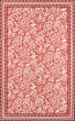 Product Image of Floral / Botanical Red, Ivory Area Rug