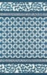 Product Image of Outdoor / Indoor Navy, Blue, Ivory Area Rug
