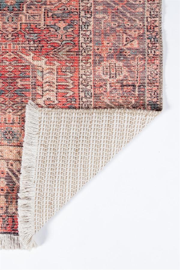 Brick Transitional Area Rug