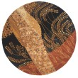 Product Image of Black Contemporary / Modern Area Rug