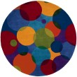 Product Image of Marine Blue, Yellow, Cranberry Geometric Area Rug
