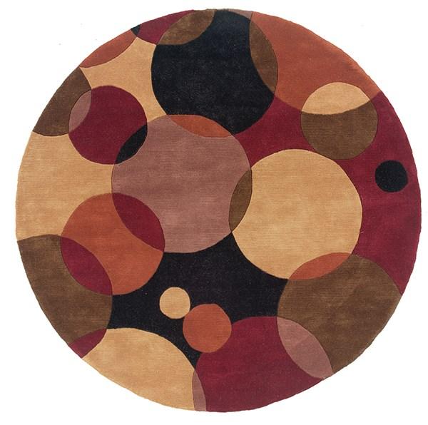 Black Geometric Area Rug
