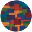 Product Image of Marine Blue, Purple, Red - Orange Geometric Area Rug