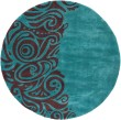 Product Image of Turquoise Transitional Area Rug