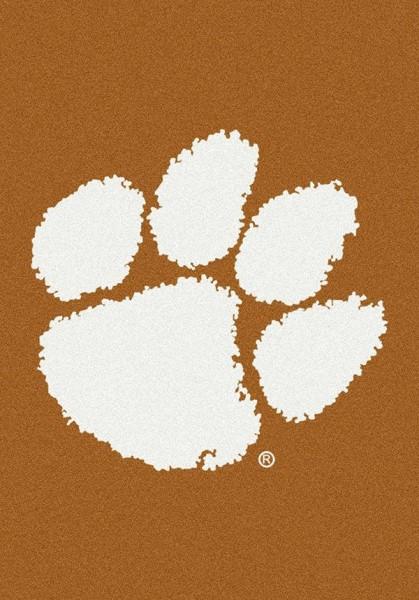 Orange, White (79358) Novelty / Seasonal / Sports Area Rug