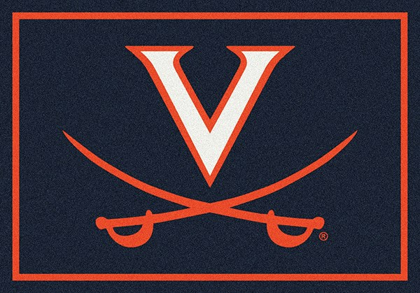Milliken Team Rugs College Spirit Rugs Virginia Rugs Rugs Direct