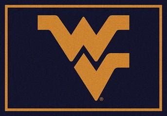 College Spirit Rugs West Virginia arearugs