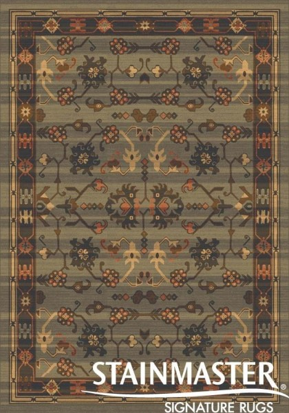Moss (331)  Traditional / Oriental Area Rug