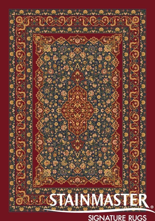 Tapestry Red (187)  Traditional / Oriental Area Rug