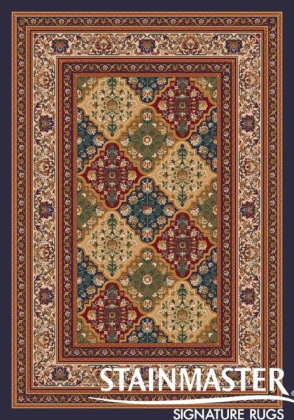 Black Currant (619)  Traditional / Oriental Area Rug