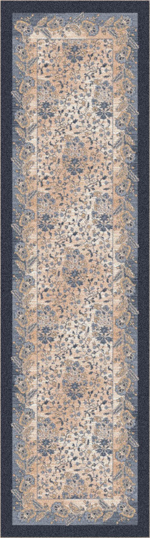 Blue Smoke (6)  Traditional / Oriental Area Rug