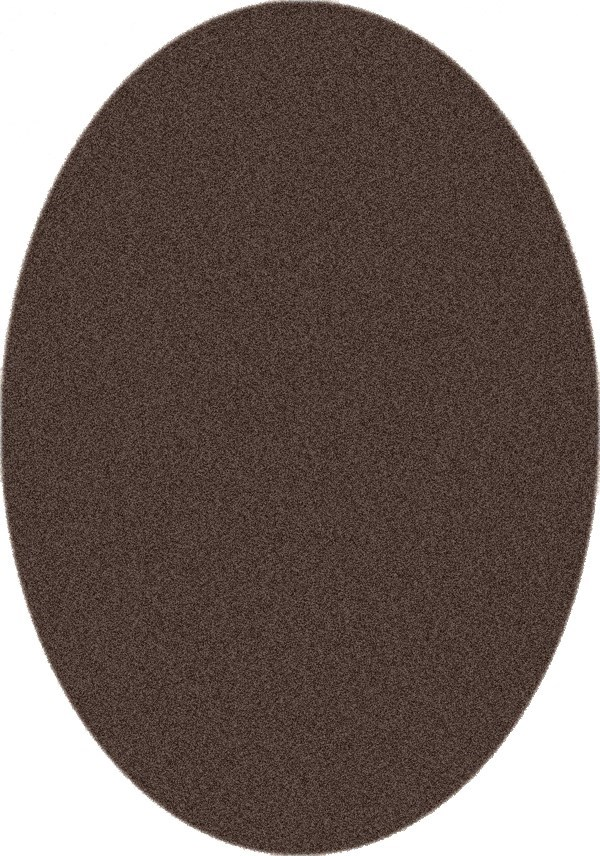 Brown Leather (626) Solid Area Rug