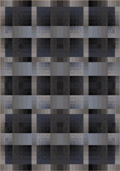 Charcoal (6) Contemporary / Modern Area Rug
