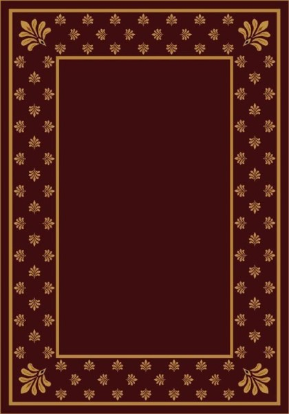 Garnet II (10006) Bordered Area Rug