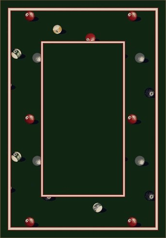 Design Collection Billiards 8490 arearugs