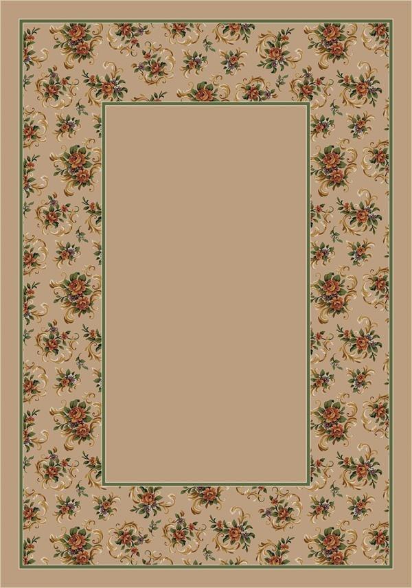 Pearl II (1006) Floral / Botanical Area Rug