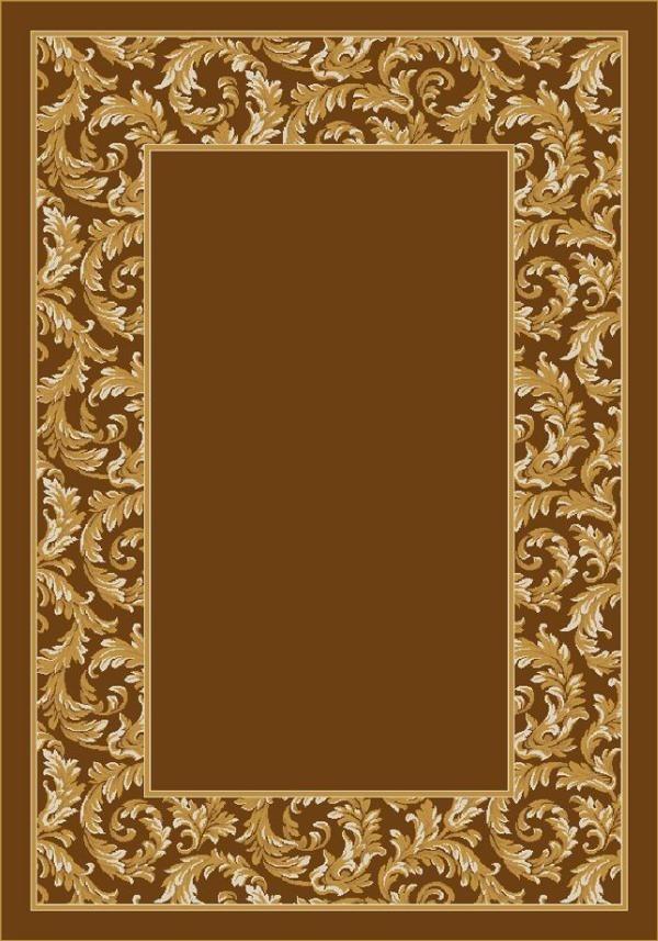 Golden Amber (5406) Floral / Botanical Area Rug