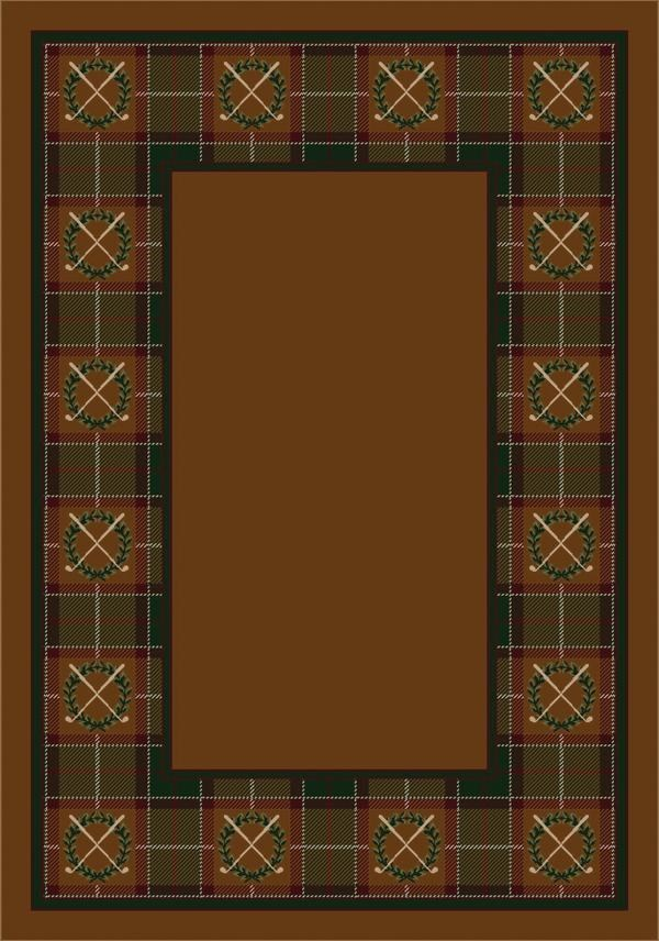 Dark Amber (5006) Country Area Rug