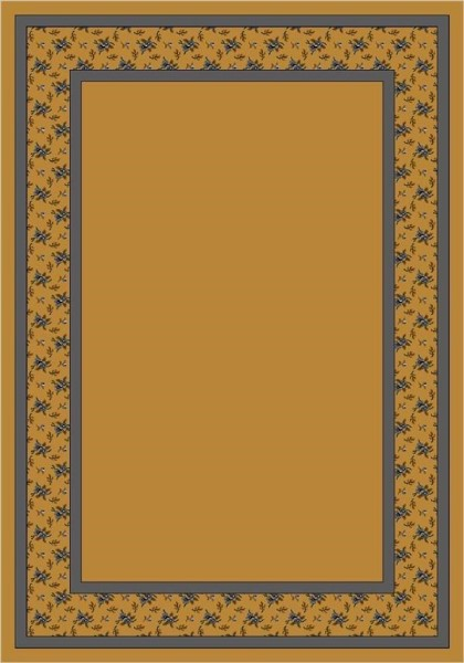 Golden Topaz (4006) Floral / Botanical Area Rug