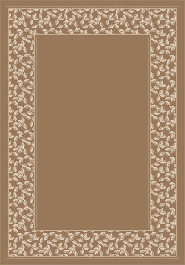 Light Sandstone (2306) Bordered Area Rug