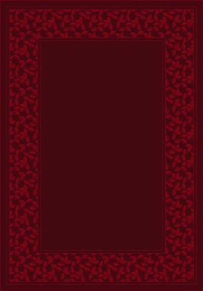 Cranberry (10806) Country Area Rug