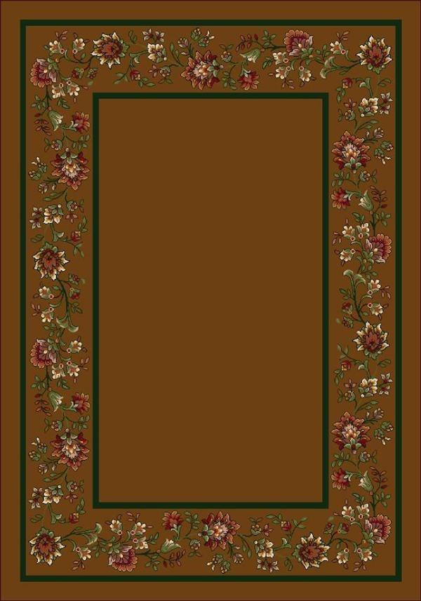 Nutmeg II (5306) Floral / Botanical Area Rug