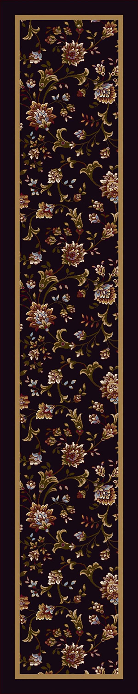Onyx (13006) Floral / Botanical Area Rug