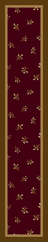 Garnet (10006) Floral / Botanical Area Rug