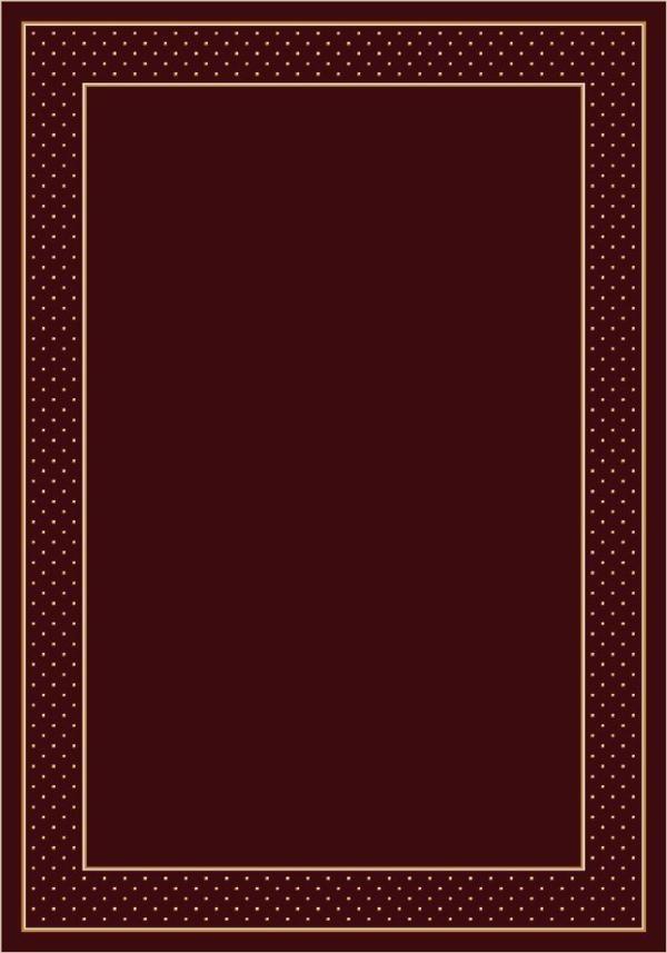 Garnet (10006) Bordered Area Rug