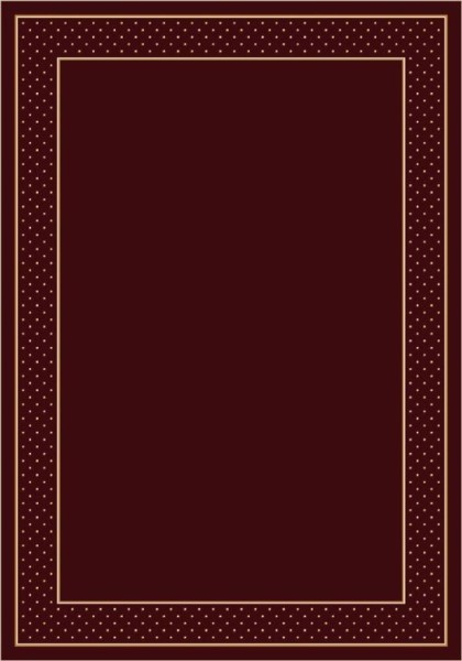 Garnet (10006) Bordered Area Rug
