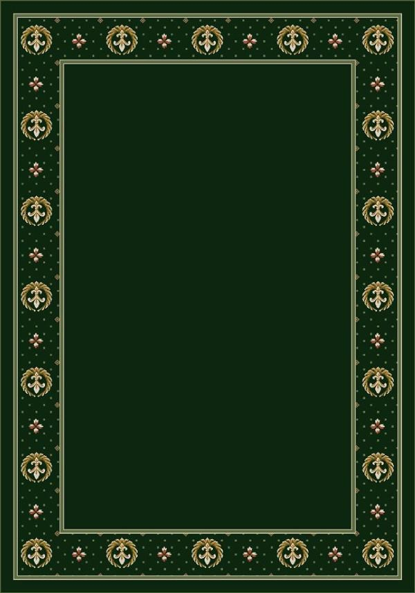 Emerald II (11006) Bordered Area Rug