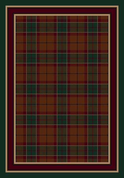 Amber Emerald (5906) Country Area Rug