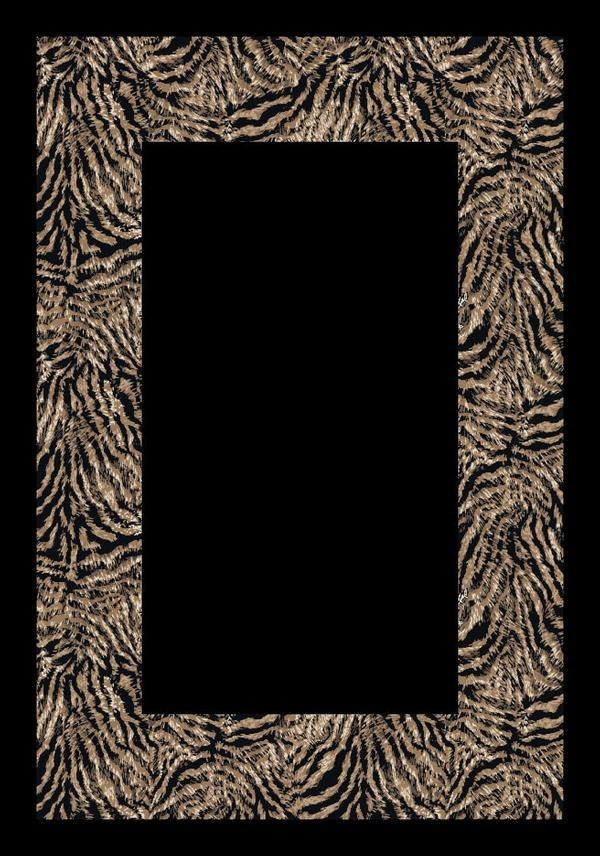 Zebra (3206) Animals / Animal Skins Area Rug