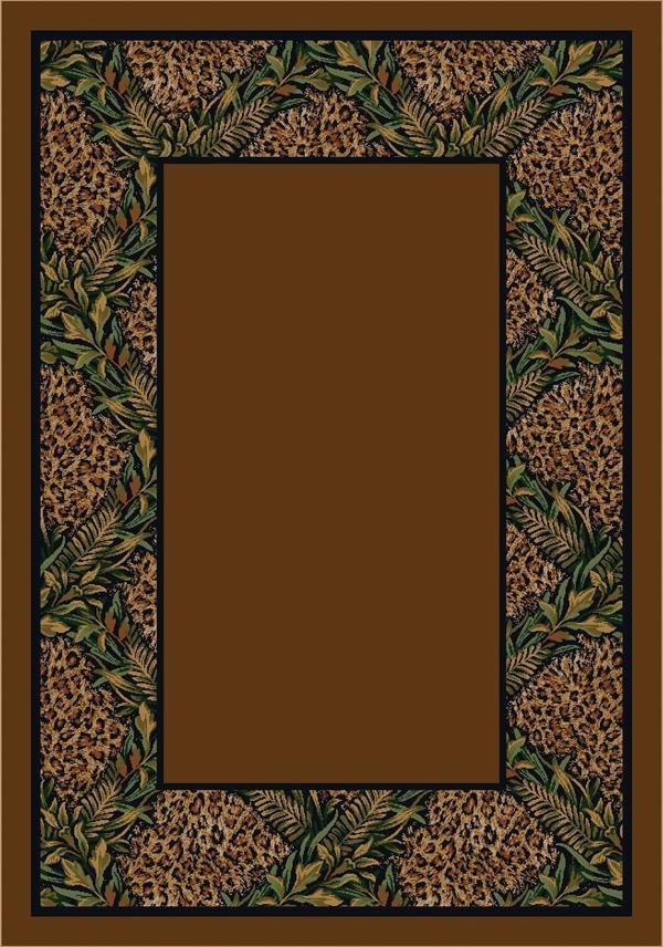Leopard (4306) Floral / Botanical Area Rug