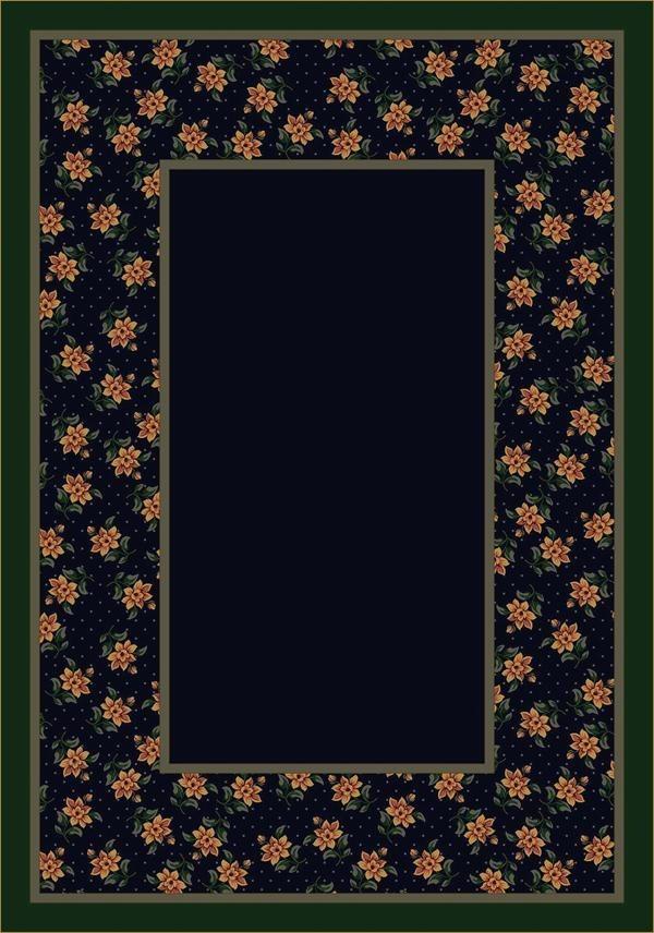 Sapphire (12006) Floral / Botanical Area Rug