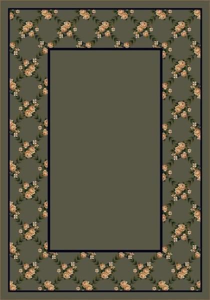 Sage II (4706) Floral / Botanical Area Rug