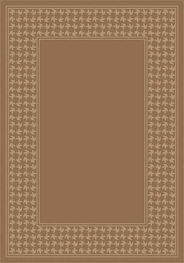 Sandstone (3006) Bordered Area Rug