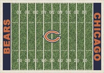 NFL Team Rugs Chicago Bears arearugs