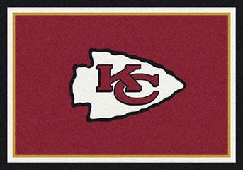 NFL Team Rugs Kansas City Chiefs arearugs