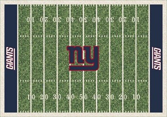 NFL Team Rugs New York Giants arearugs