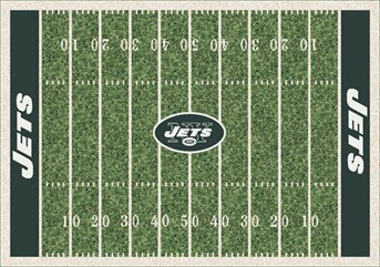 NFL Team Rugs New York Jets arearugs