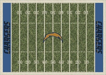 NFL Team Rugs San Diego Chargers arearugs