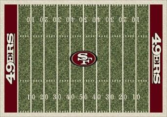 NFL Team Rugs San Francisco 49ers arearugs