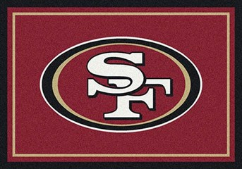 NFL Team Rugs San Francisco 49ers arearugs